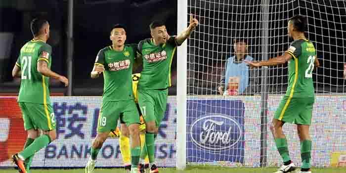 中超-伊尔马兹双响 国安乐视2-0客胜宏运近5轮首胜