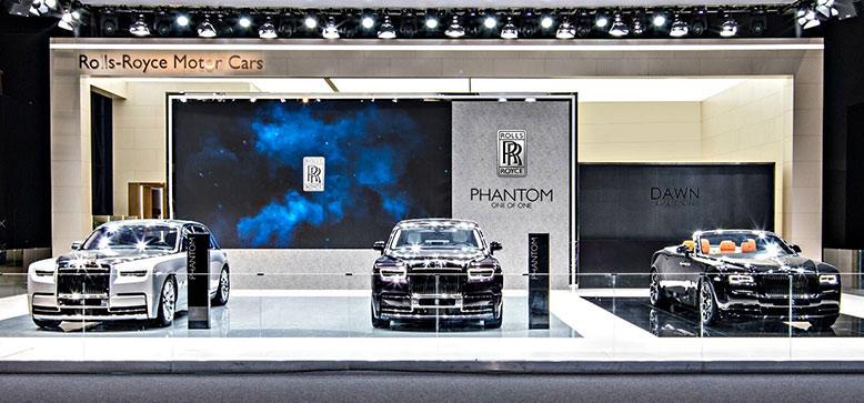 劳斯莱斯汽车顶级奢华阵容驾临2017广州国际车展