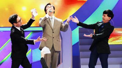 费玉清变身搞笑段子手 薛之谦钟汉良现场舞技比拼