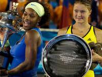 2009澳网小威横扫萨芬娜 夺大满贯第10冠