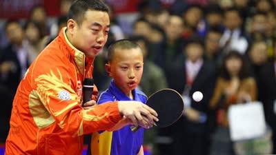 男乒统帅刘国梁 回顾比赛经典镜头