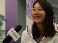 乐视网球赛后专访  段莹莹欲从老将身上取经