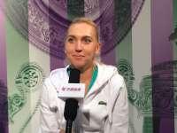 乐视网球专访维斯尼娜 俄国美女拍照爱滤镜