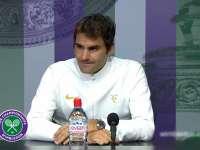 费德勒:输掉比赛太过失望 这不会是最后一场温网比赛