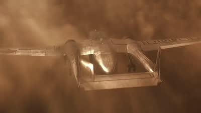 《凤凰劫》片段:大飞机遭遇沙尘暴迫降,惊心动魄死里逃生