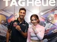 找不到鼓点的男孩:F1新加坡站里卡多现身豪雅活动