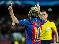 梅西一夜刷N纪录 欧冠7戴帽压C罗16球打爆英超