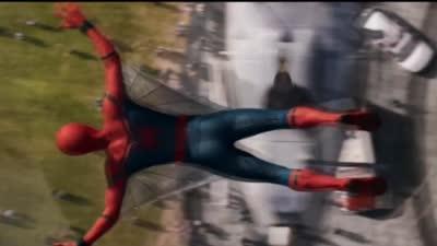 """《蜘蛛侠:英雄归来》全球首支预告片曝光 小蜘蛛傍上""""大款""""钢铁侠"""