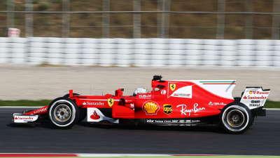 F1新赛季冬测火热开幕 法拉利新车咆哮出笼