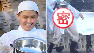 """跑男第二季10期 钟汉良""""湿身露点"""""""