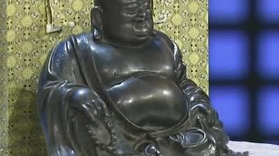 明代弥勒佛像价值不菲