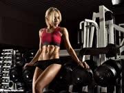美女健身联盟 6分钟下腹肌训练