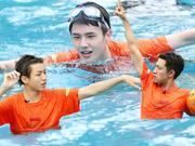 《高能少年团》20170415:王俊凯刘昊然湿身打水球 张一山夏雨互吐口水
