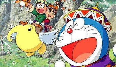 《哆啦A梦-大雄的风之使者》