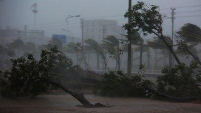 超强台风尼伯特来袭