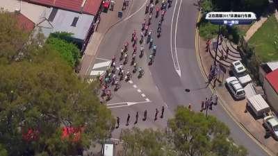 2017环澳自行车赛第一赛段全场录播(中文)