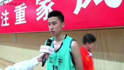 业余球员我最强——杭州第一初中生童嘉伟