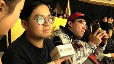 千里追寻林志杰!台湾球迷现身广厦助威台湾野兽