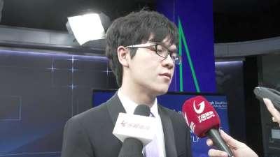 专访柯洁:表示支持李世石拿下最后一局比赛