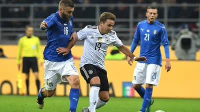 录播:意大利VS德国(下半场) 2016国际足球友谊赛