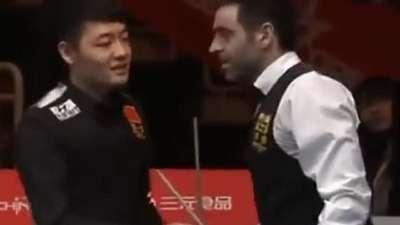 中国公开赛诡异悬案 火箭竟黑球
