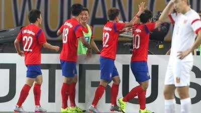 回顾中韩战经典瞬间:施蒂利克首秀两球完胜中国