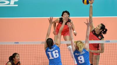 女排大奖赛中国1-3塞尔维亚 香港站1胜2负垫底收官