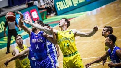 男篮亚洲杯-惠龙儿10分 澳大利亚41分屠中国香港