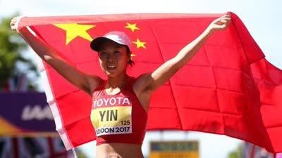 男女50公里竞走中国获1银1铜 尹航破亚洲纪录