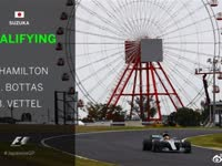 2017年F1日本站排位赛 全场录播