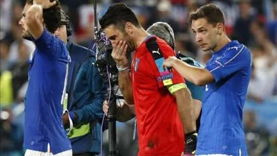 2年前布冯曾为意大利痛哭 这支意大利让他很受伤