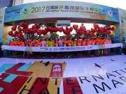 """""""最美蠡湖 为爱奔跑"""" 2017环蠡湖半程马拉松收官"""