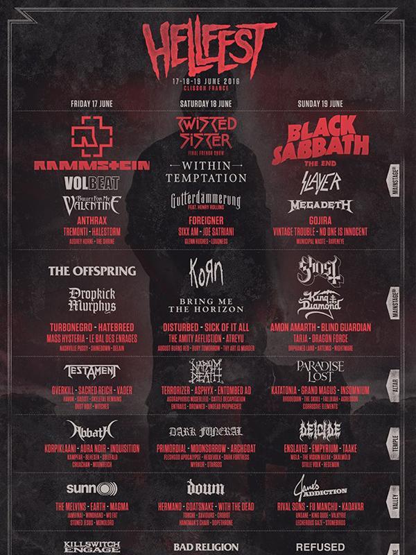 HellFest金属音乐节