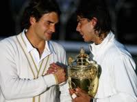 经典回顾-纳达尔赢得温网世纪大战  08年决赛草地首胜费德勒