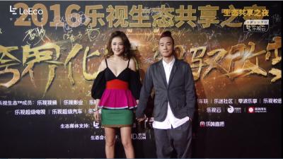 陈小春采儿携手红毯 夫妻档齐带来惊喜
