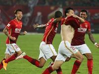中超-恒大2-1逆转建业四连胜 郜林连场破门制胜