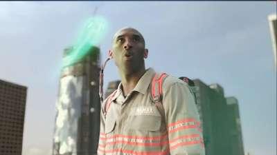 《超能敢死队》曝NBA版宣传片 科比为老东家湖人捉鬼