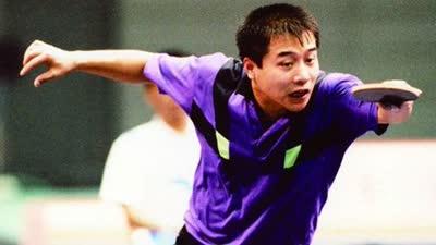 回顾王涛的乒乓风采 赛场上光阴的故事