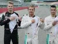 F1德国站梅赛德斯奔驰媒体日:传奇之地的赛车狂欢