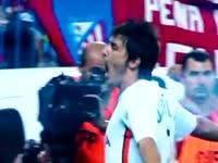 十年前西甲第二轮 阿圭罗首秀风头不及比利亚进球