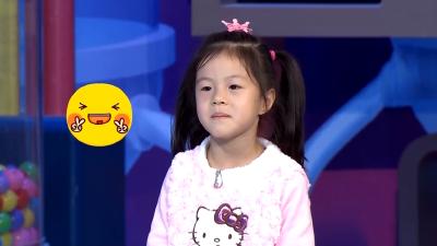 双马尾小萌妹唱英语歌