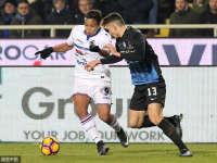 意甲-阿根廷神锋破门 亚特兰大1-0桑普力压米兰