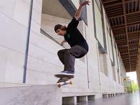 滑板大神极限刷街镜头 想怎么逛就怎么逛