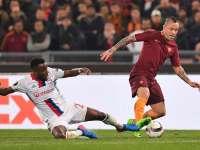 录播:罗马vs里昂(张学洋)16/17赛季欧联