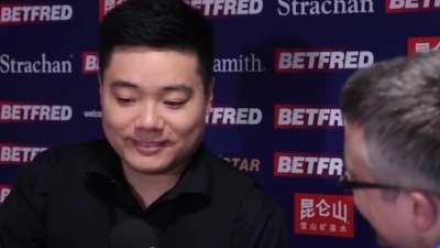 丁俊晖:周跃龙好过当年的我 梁文博是危险对手