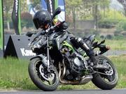 【骑士网呆子测评】十万级温柔的屠夫,川崎Z900呆子试骑体验