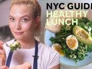 模特们都吃这个! 超模Karlie Kloss教你做模特级别的健康料理How to make the best healthy lunch in NYC -