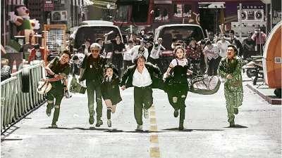 """《缝纫机乐队》先导预告片 """"继续拯救不开心""""主演集体狂奔"""