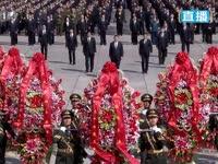 党和国家领导人向人民英雄敬献花篮