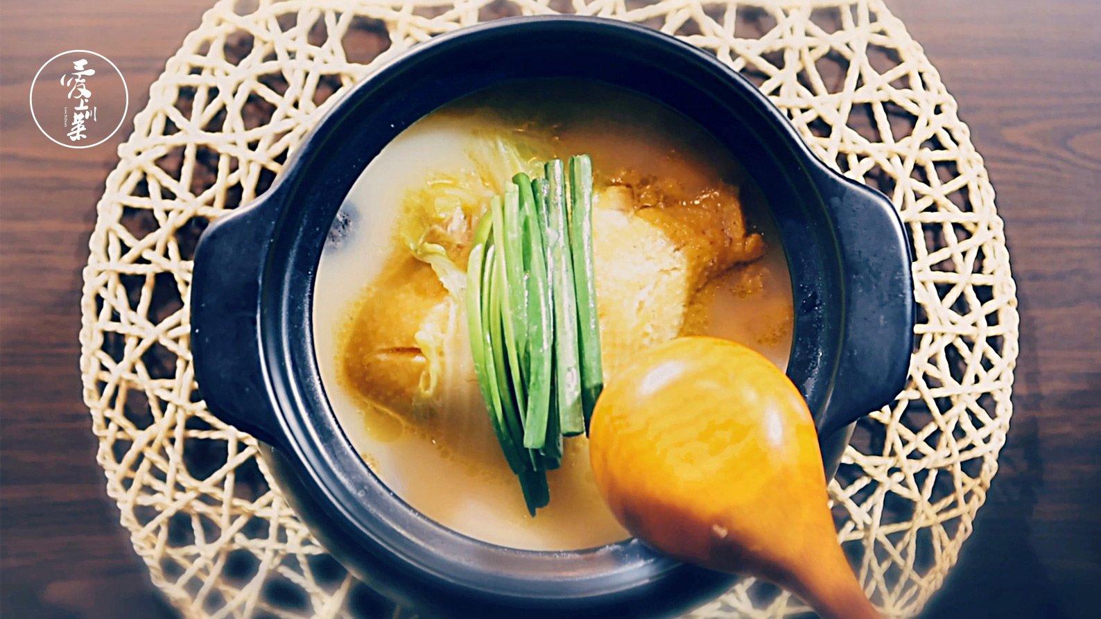 爱上川菜039:哥哥的白果炖鸡